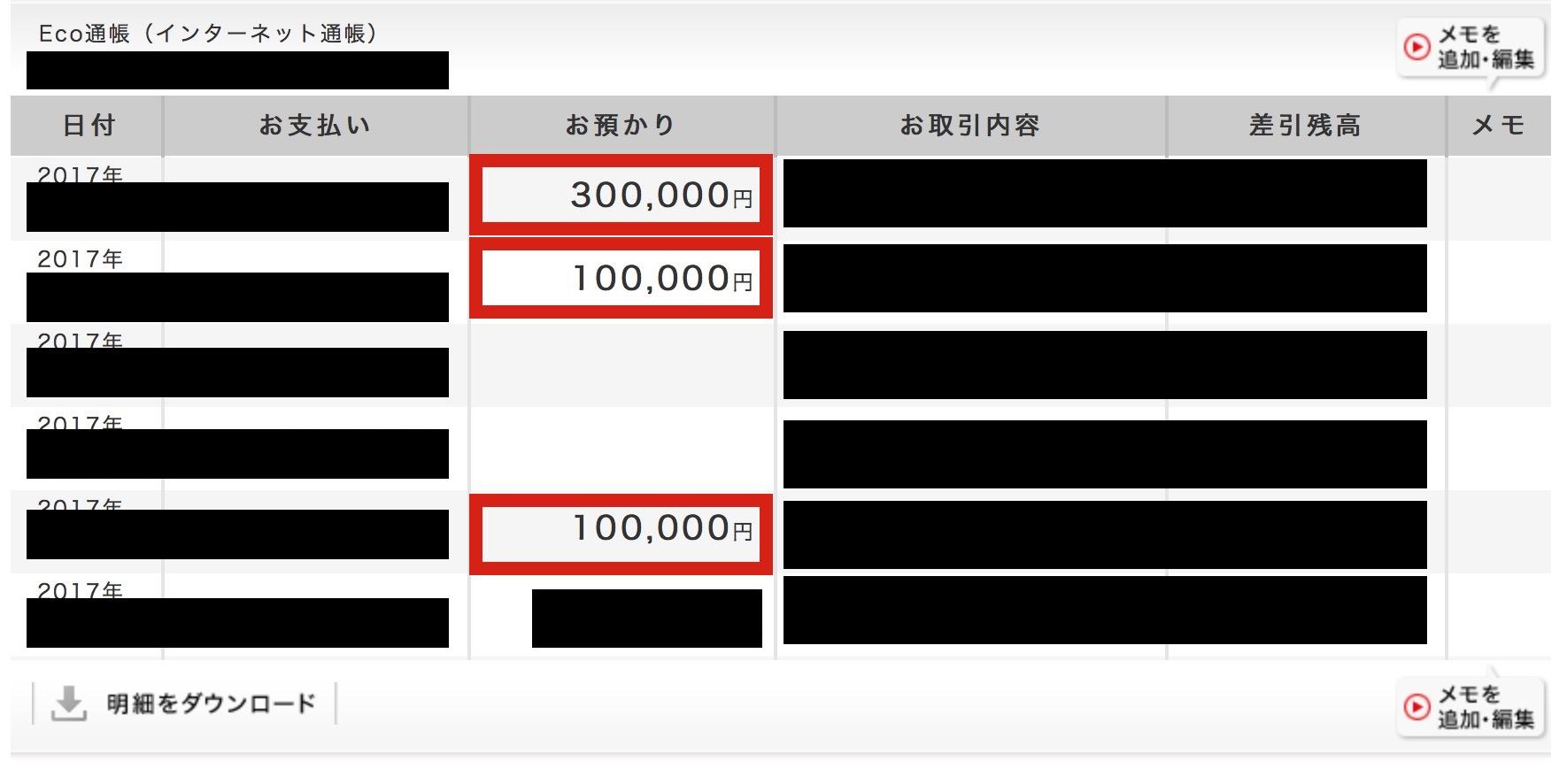(ネットバンクの画像‥高額なコンサル依頼が殺到中‥)